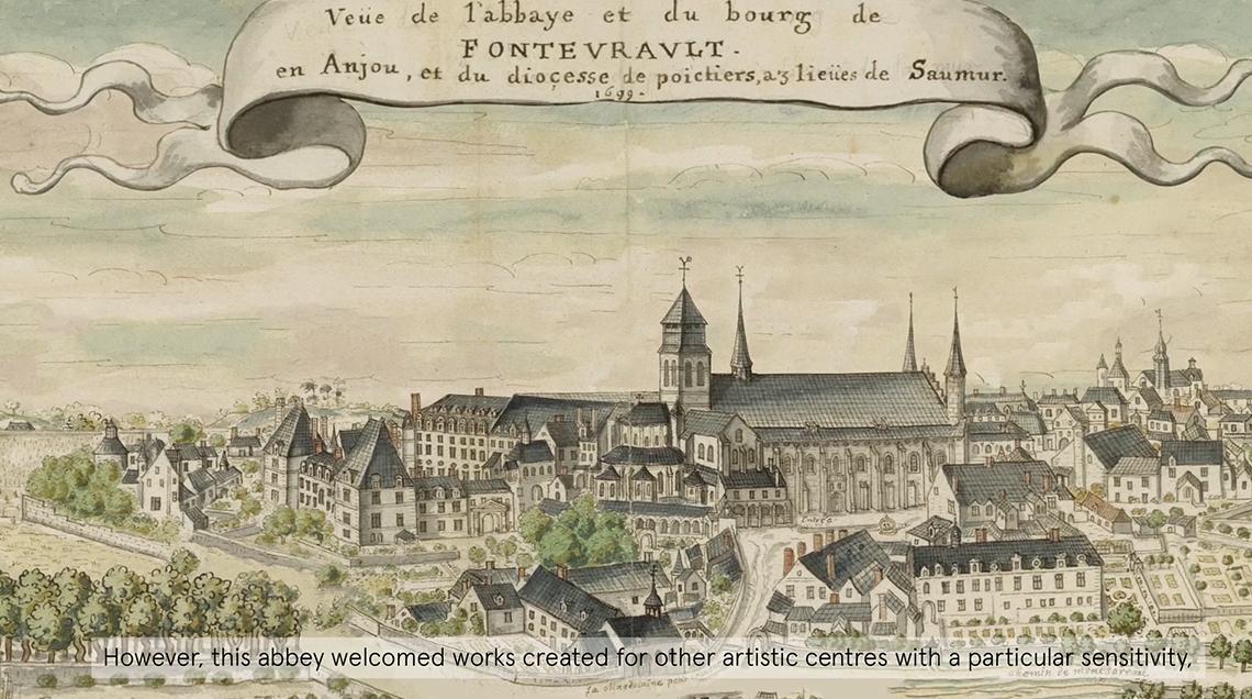 Dripmoon - Production d'une vidéo matte painting de tableaux anciens pour l'abbaye de Fontevraud.