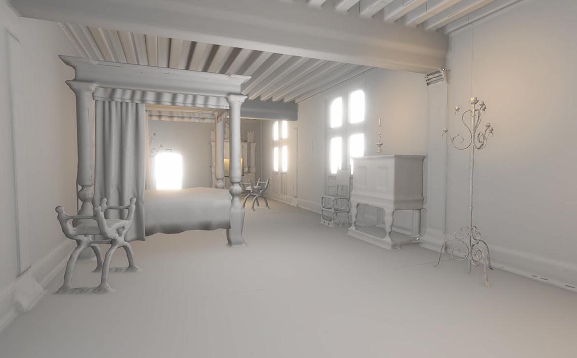Application interactive Immersive 3D - Expérience musicale dans le château de Chambord
