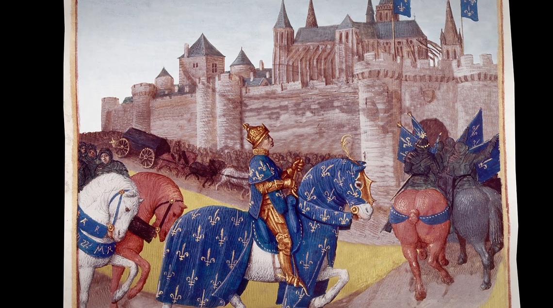 Création d'un documentaire avec animation de tableaux de la Renaissance pour le Cubiculum musicae à Tours