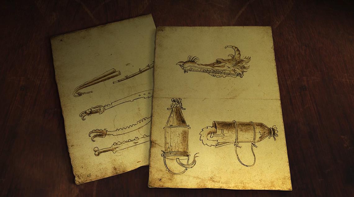Dripmoon - Expérience immersive musicale et visuelle retraçant l'invention musicale chez Léonard de Vinci