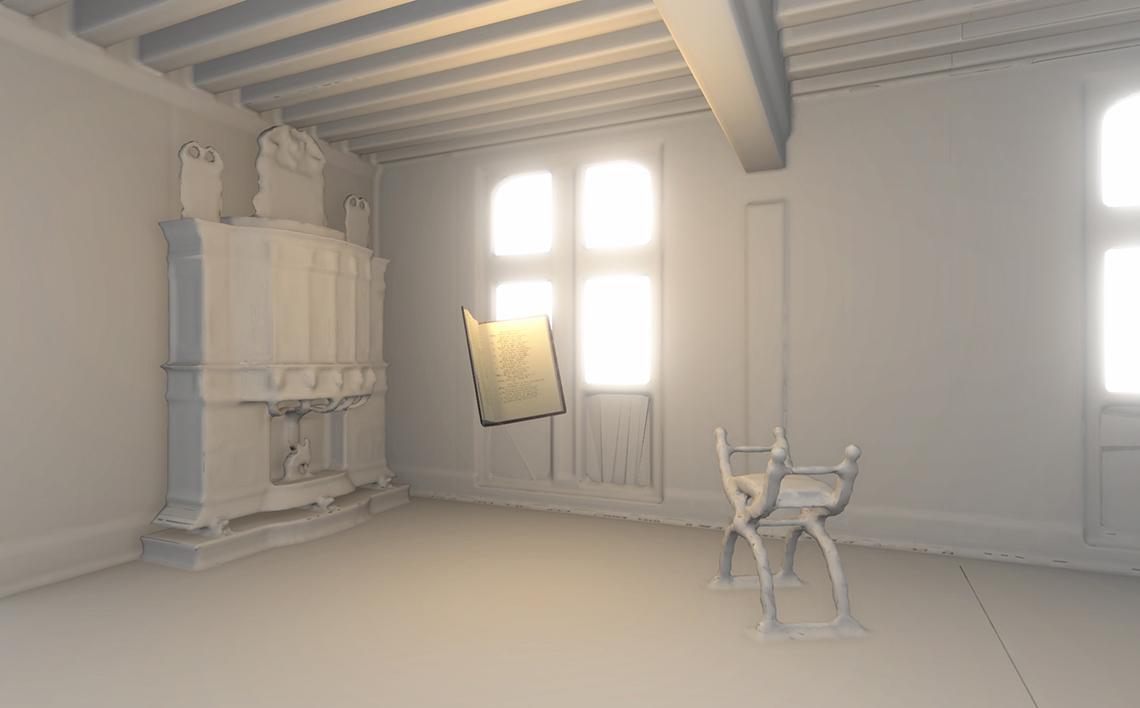 Expérience acoustique en visite virtuelle - Chateau de Chambord - Agence Dripmoon