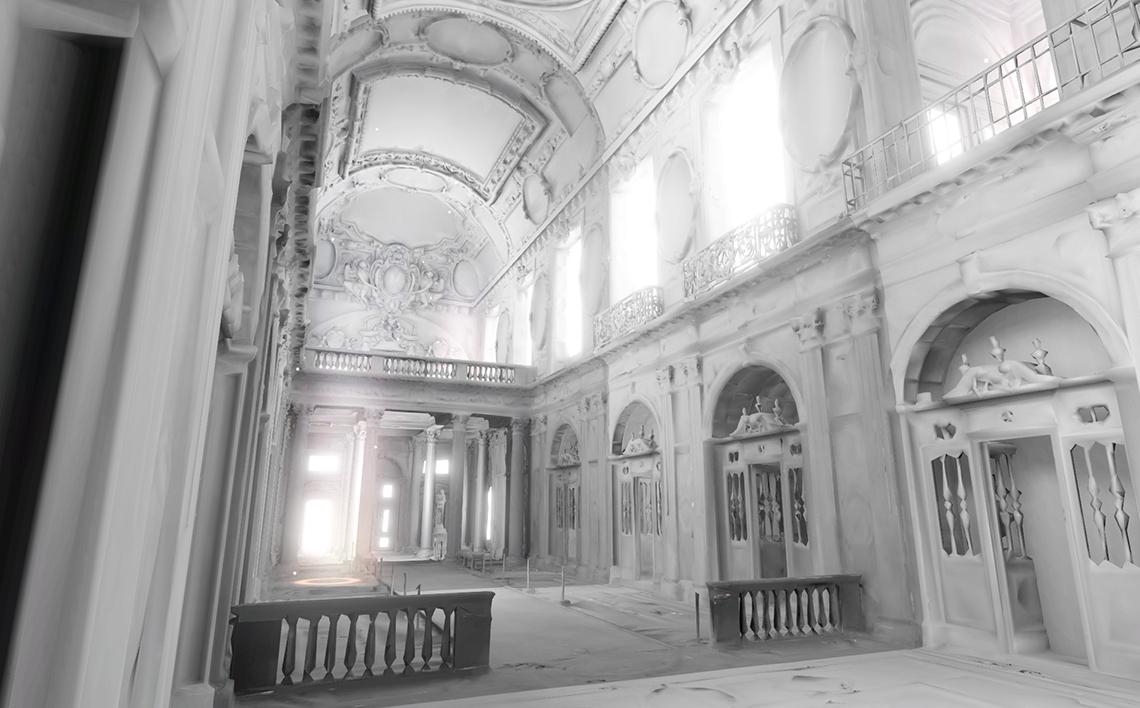 Visite de 4 salles du château de Chambord avec spatialisation sonore